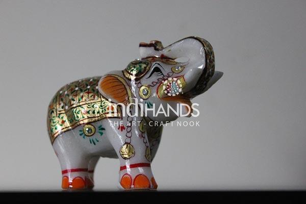 Desktop,-E-Marble-Elephant-4-Handicraft,-1167-(2)